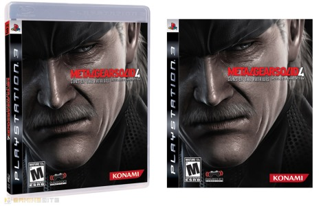 Metal Gear Solid 4 Regular Boxart